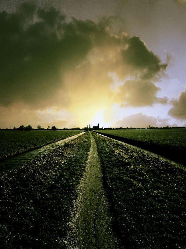 Can You See The Light? Dutch Landscape Landscape