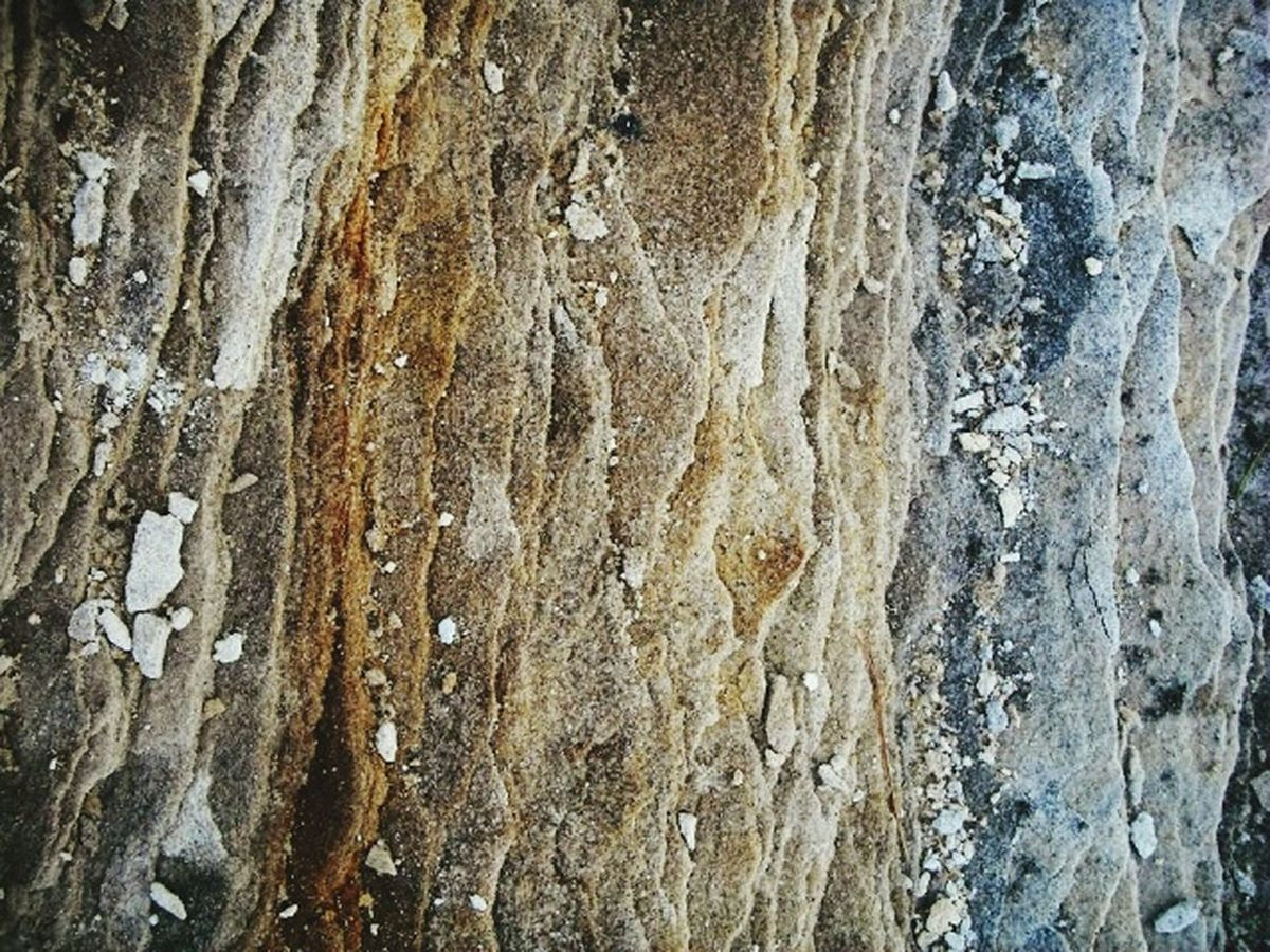Layers of Rocks at Picturedrocks National Lakeshore in Michigan. Earth Nature Sedimentary Geology
