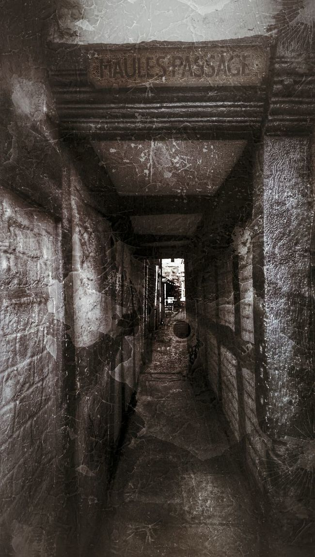 Find out what Maules means.. Walk This Way Horror Photography Passageway Oldtown Passage