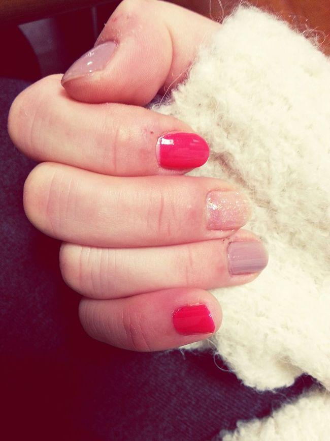 Nail Self Colorful Pretty♡ Happy Time VariousColors A mood rises ただ塗るだけそれだけ。でも塗った後は気分がちがう。いろんな色かわぃ