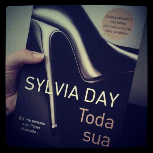 Começando uma nova aventura... Todasua Sylviaday Livro  Book mylove minhapaixao