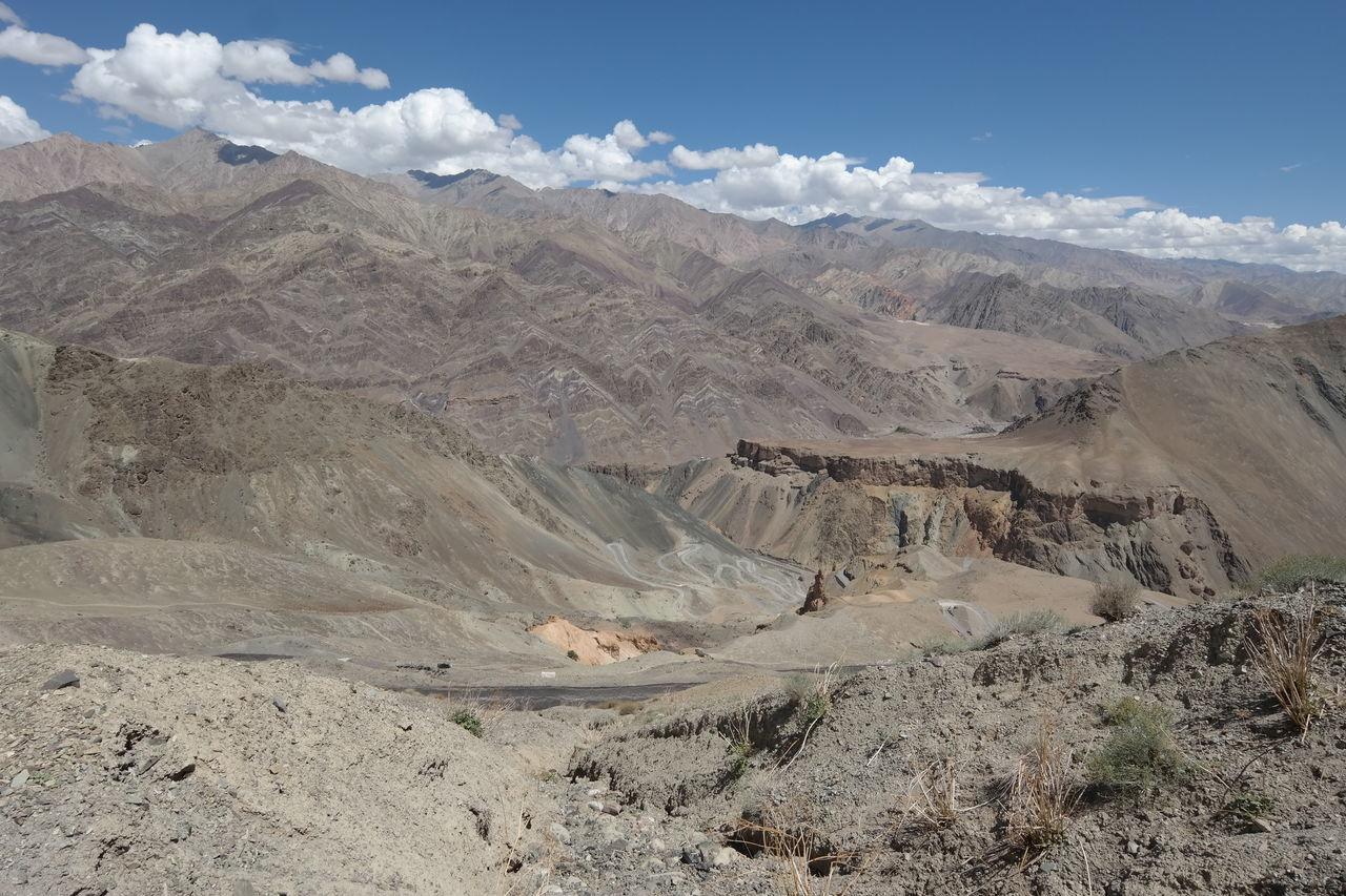 View Of Barren Desert Landscape