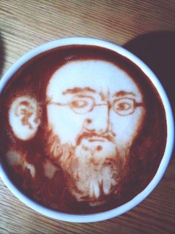 coffee old man Cappucino