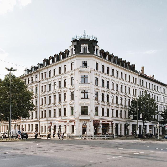 Leipzig my Love! SchillerSacherThroughGermany Leipzig Kreuzung Fassade