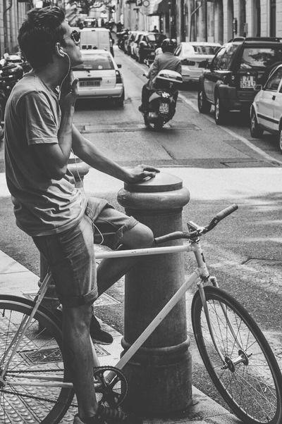 Streetphotography Trieste TriesteSocial Circolofotograficotriestino Blackandwhite Black And White Monochrome Streetphoto_bw On Your Bike The Street Photographer - 2015 EyeEm Awards