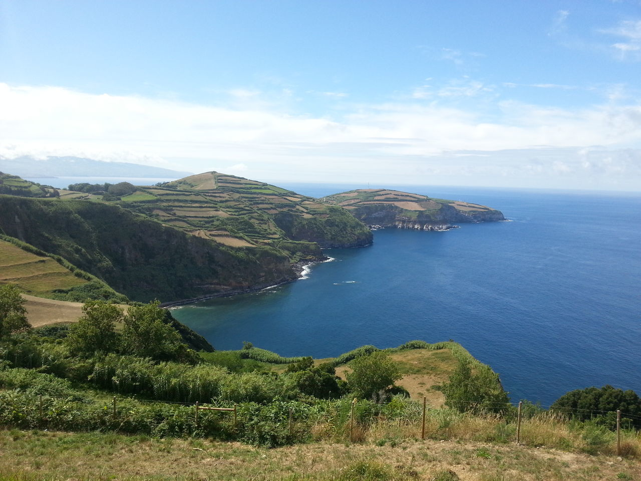 Azores Azores, S. Miguel Beauty In Nature Coastline Day Horizon Over Water Idyllic Landscape Mountain Nature No People Outdoors S.miguel Saomiguel Scenics Sea Sky Tranquil Scene Tranquility Water