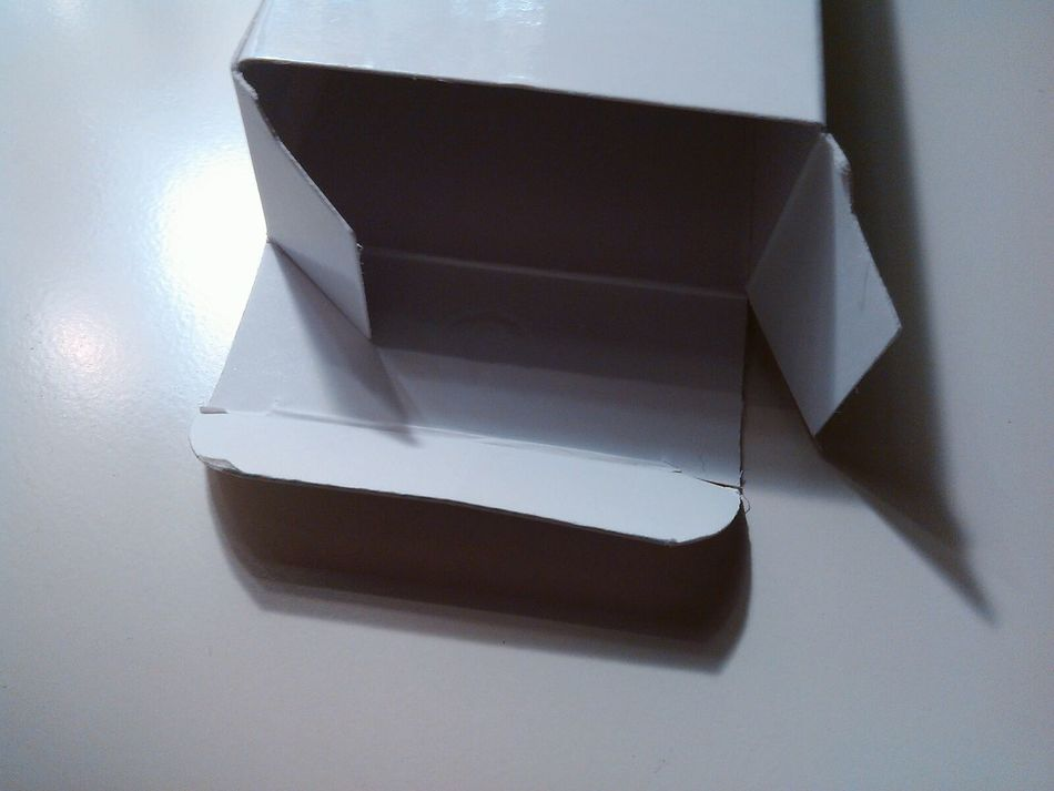 Opened White Background White Color White Album Paper Carton Box Paper Box Opened Box Open Box Empty Box White Box White And Black Black & White Empty Box Simple Photography Simplicity Simple Expression Minimalism Nothing Inside Gift Present From Love Sadness Light And Shadow