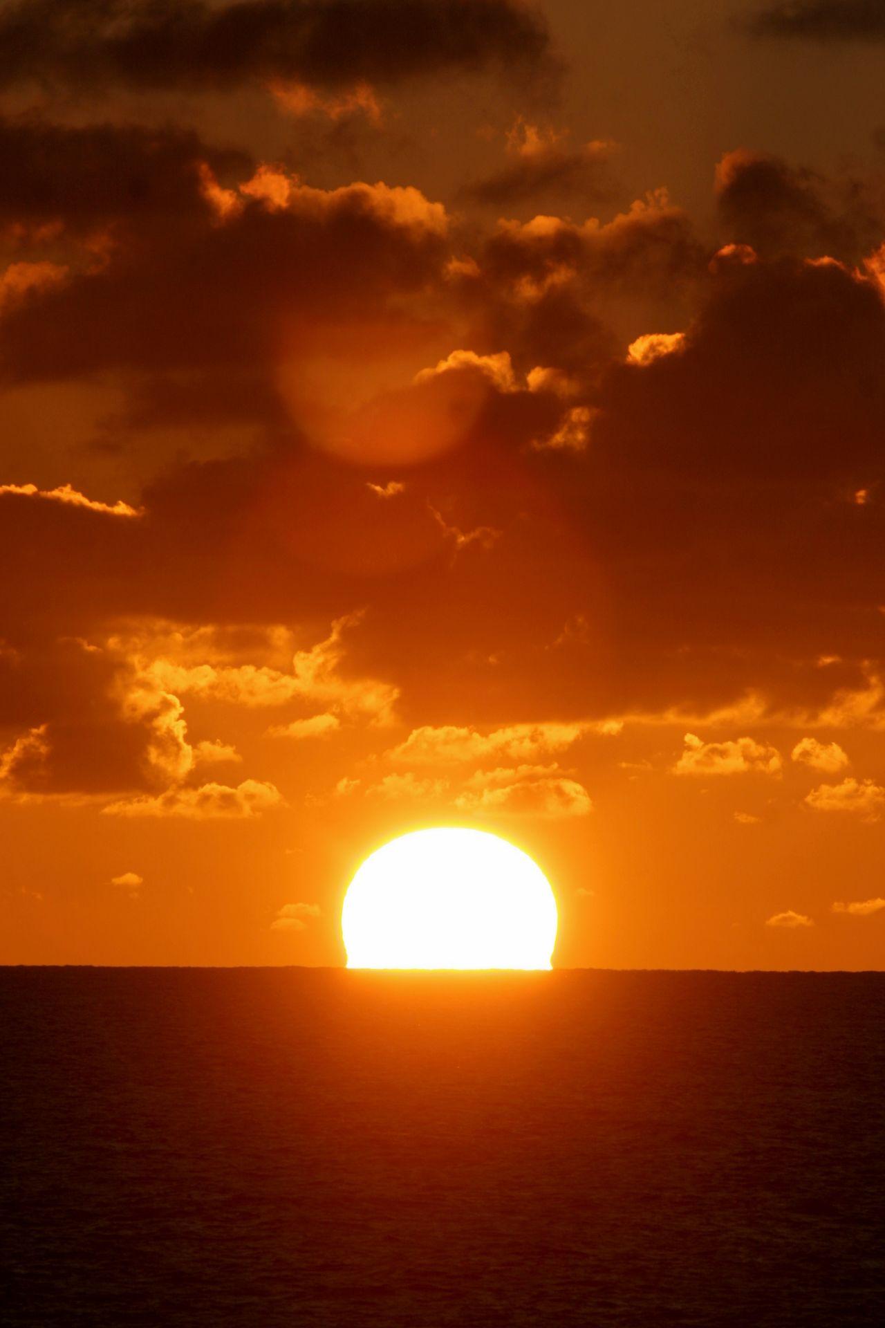 Beauty In Nature Cloud - Sky Dramatic Sky Nature No People Orange Color Scenics Sea Sky Sun Sun Rise Sunlight