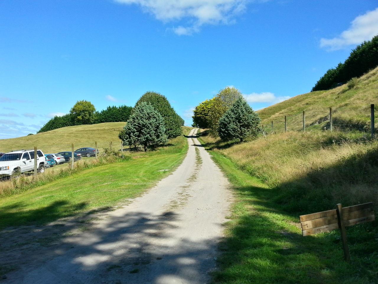 Country road wedding. Country Road Wedding Autumn New Zealand Scenery