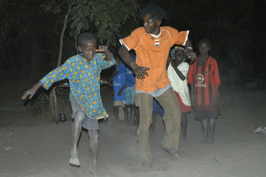 Party time in Niafrang Senegal Dancing Music Niafarang Niafourang Niafrang West Africa Africa African Dance Casamance Party People Real People Sen