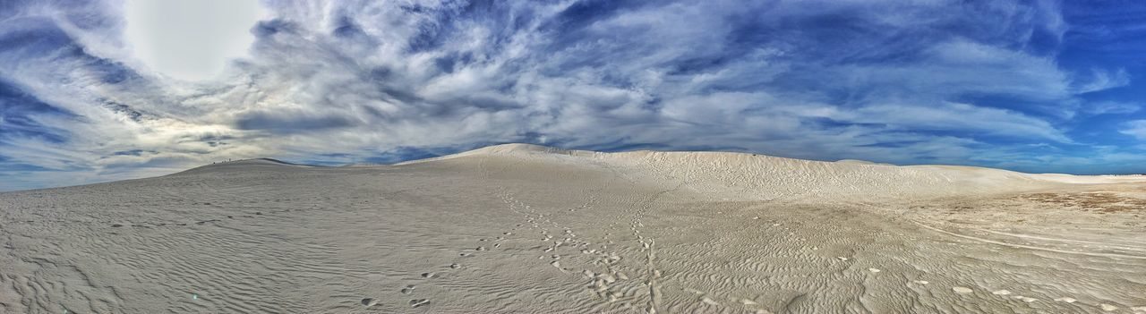 Lancelin Sand Dunes Perth Perthlife Australia Australian Landscape IPhoneography IPhone Iphoneonly Iphone6plus Travel Destinations Travel Photography Photooftheday Sand Dune Desert Nature Sand Cloud - Sky Sky Scenics Outdoors Beauty In Nature ASIA Sandboarding