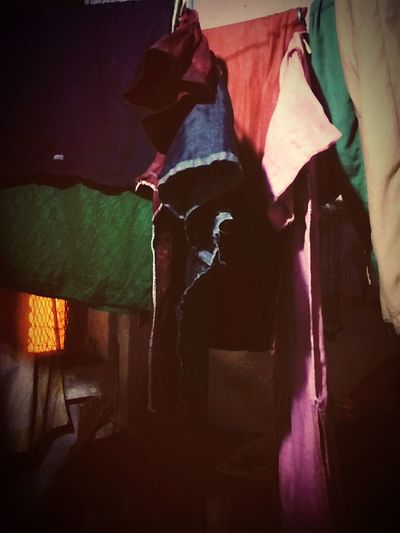 Everything In Its Place Clothes Drying Lonely At Night🌙 Sad Ones
