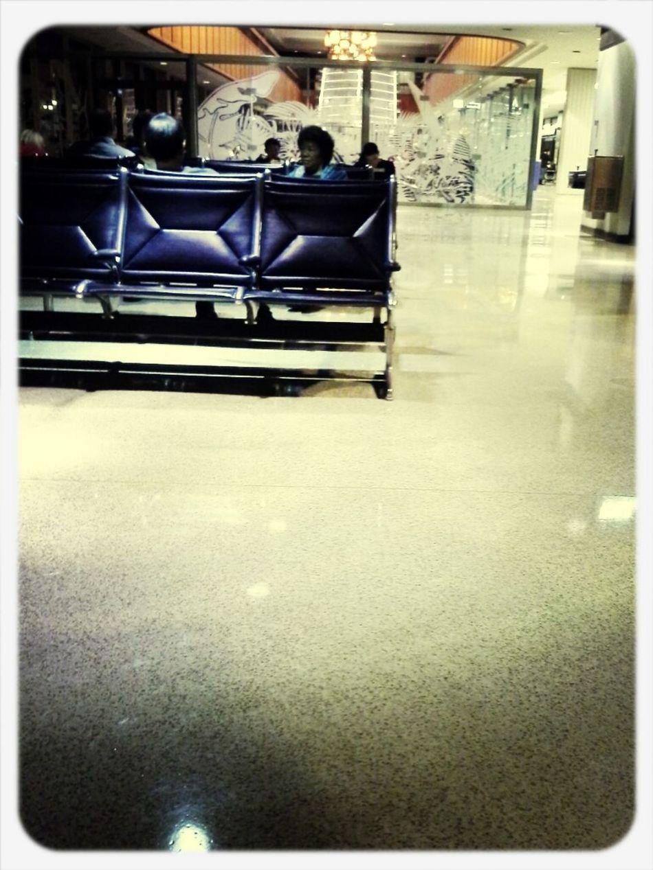 Waiting To Depart