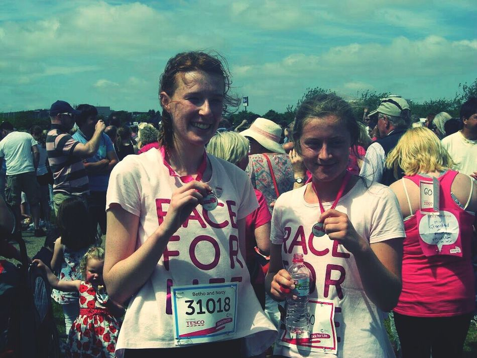 10k, was all worth it for such a good cause Race For Life!