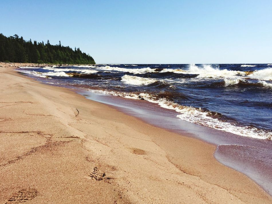 ладога стихия ветер волны ленобласть