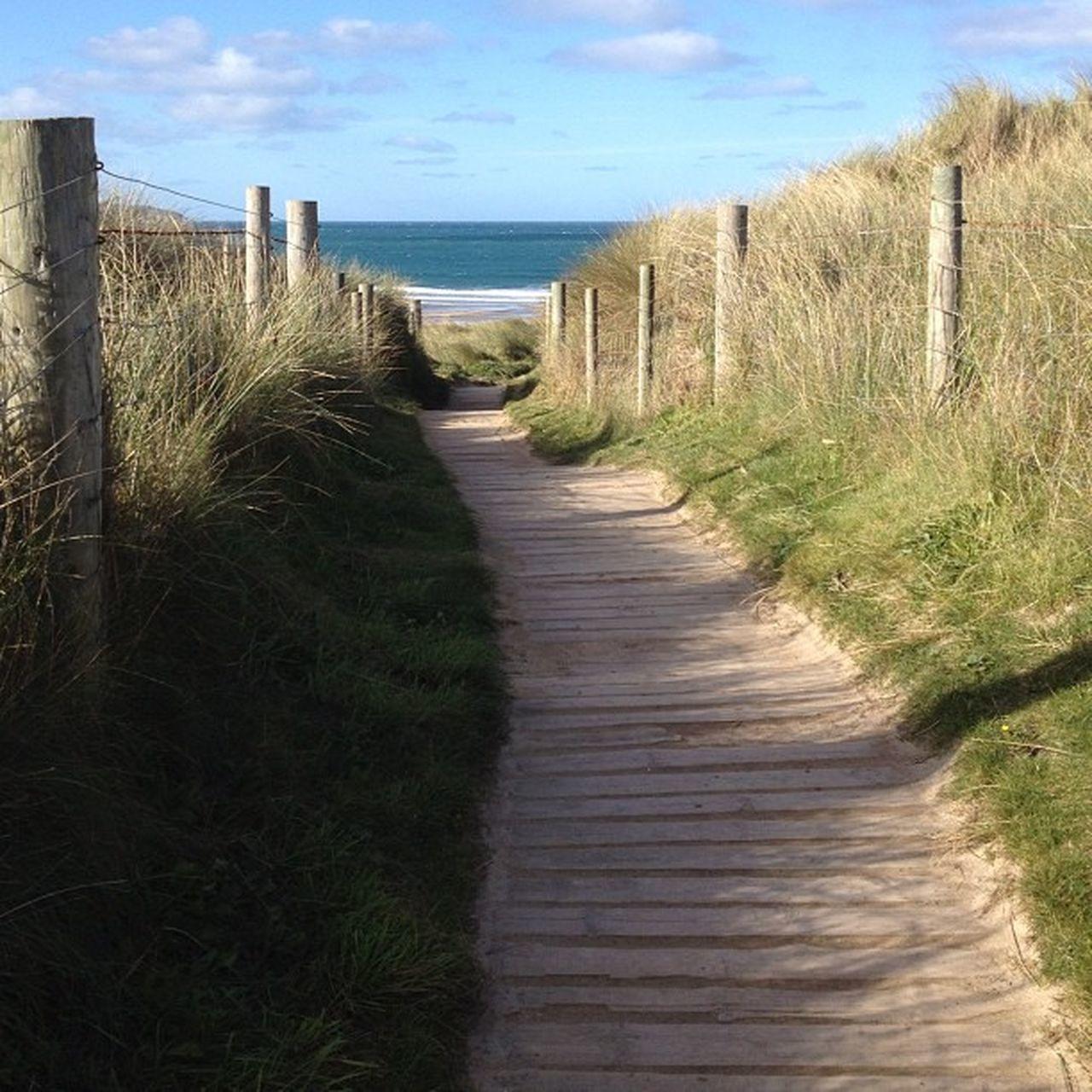 Path to the sea... #sea #godrevy #cornwall #path #improvedimage Sea Path Cornwall Improvedimage Godrevy