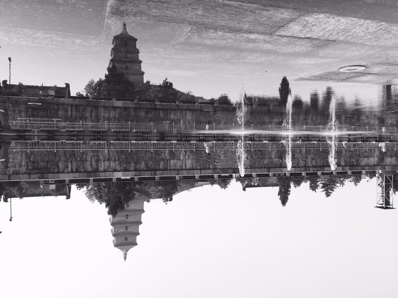 Reflection Water Lake Architecture Reflecting Pool No People Sky Symmetry Outdoors Building Exterior Nature Day Instagramers Instamood Marketing Read Everywhere Instalike Instacool