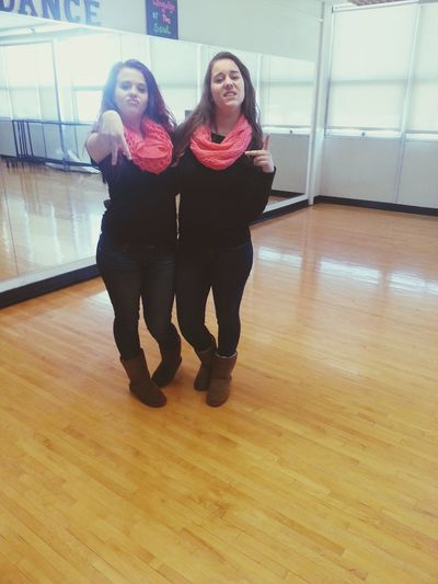 Twinning with the bestie ((: