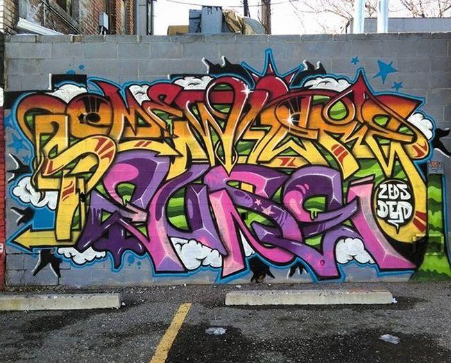 Graffiti Graffhunter Graffitiporn Rsa_graffiti Instagraffiti Deadrocks Larimerlounge Denvergraffiti @zedsdead_hooks