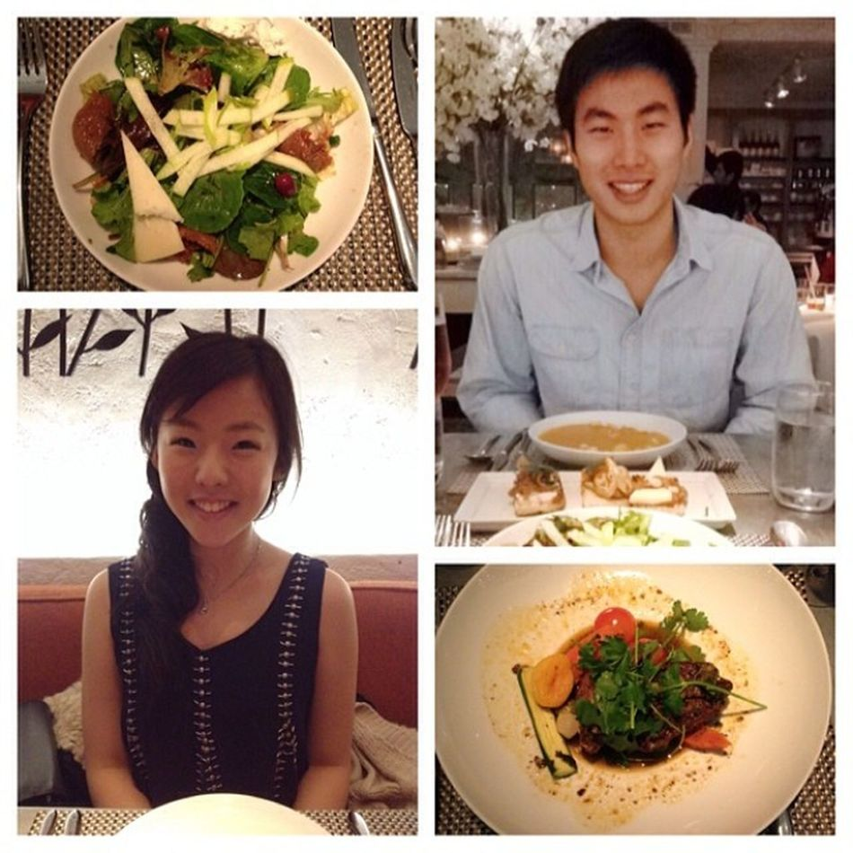 celebratory dinner! day 19/100 100happydays