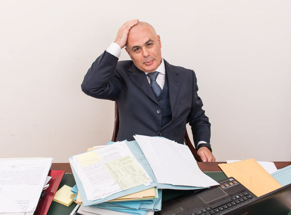 Panic Bald Bald Head Baldhead Baldness Business Businessman Businessmanagement Depression Desk Looking At Camera Mature Men Men Occupation Office One Man Only Scare Scared Scared Face Sitting Suit Technology Well-dressed White Background Wireless Technology