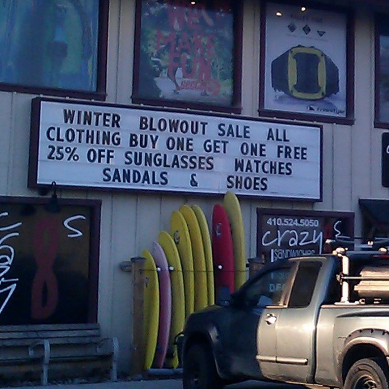 For those lucky enough to be coming down this weekend for some of the events around town, here's one for the To-Do list.. OceanCity Maryland Ocmd Oceancitycool mdlivin fashion clothing sale surf