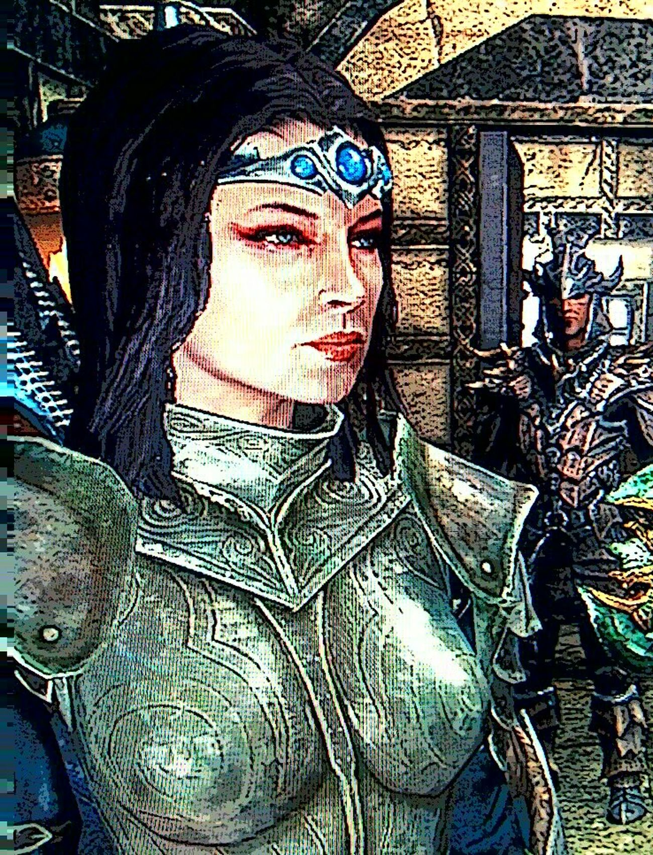 Jocasta Pryde, Imperial. Screenshot Skyrim Playing Skyrim Fantasy