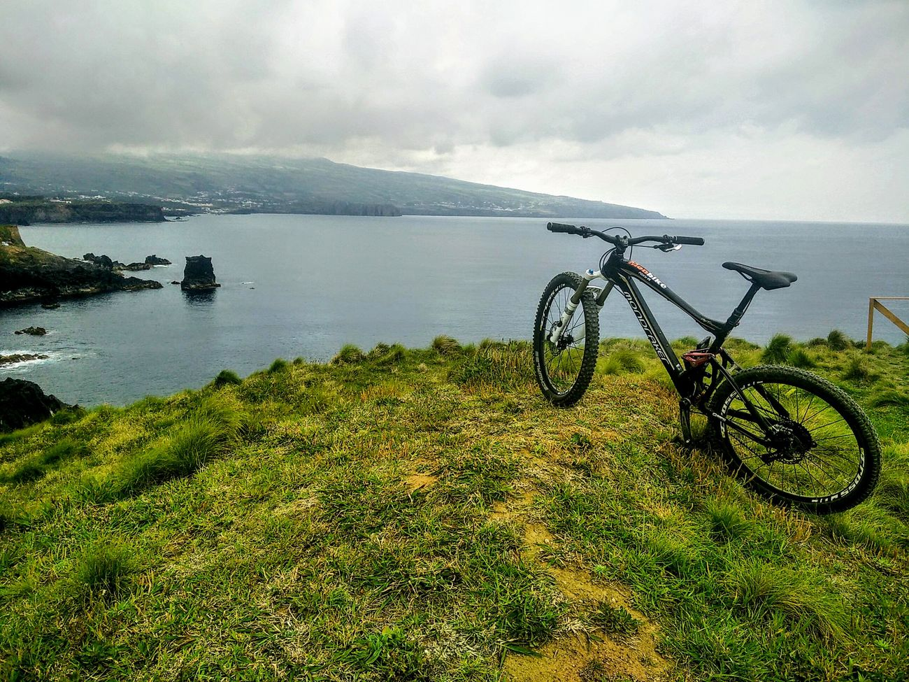 Bicycle Cloud - Sky Nature Outdoors Tranquility Horizon Over Water Water Cyclingphoto Cycling Sao Miguel- Azores Azores Quality Time