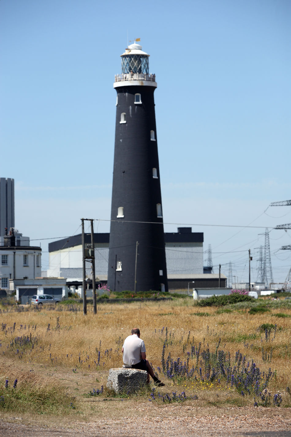Chilling Contemplation Dungeness Inlandempire Left Out Lighthouse Old But Me & Mari  Reclusi Reject SA Solitary Taking Time Out