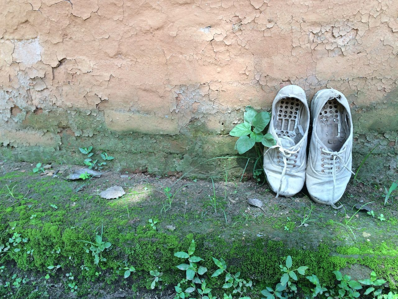 Artsy Canvas Shoe Close-up Clothes Green Color Nepal No People Old Old Shoes Outdoors Poverty Shoe Shoes Vintage