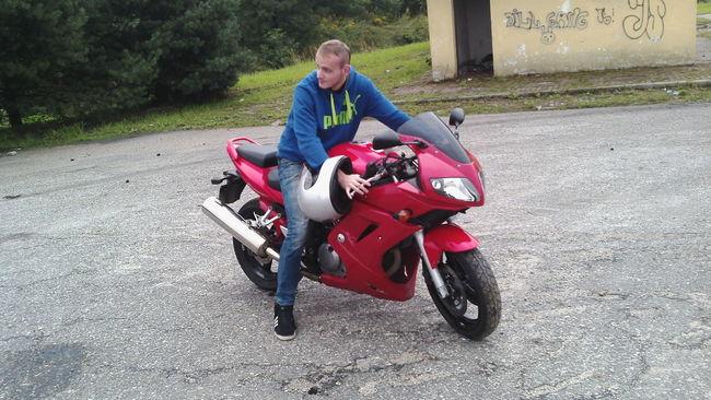 Motorbike Motorcycle Suzuki First Drive