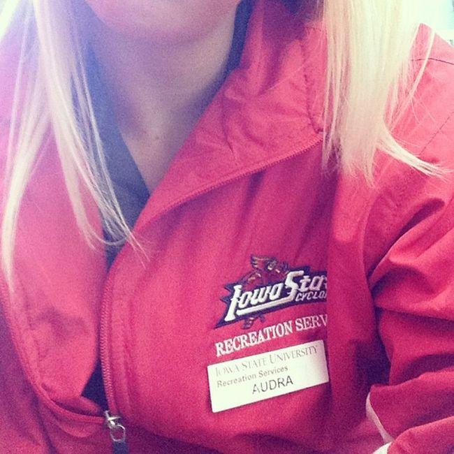 Loooovee my job! ISU Recservices