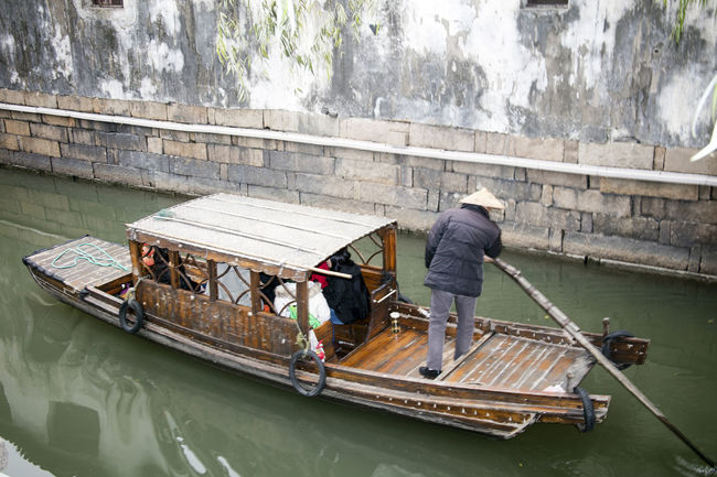 Boat Canal Canals And Waterways Canon EOS 5DS China China Beauty Leisure Activity Lifestyles Mode Of Transport Pingjiang PIngjiang Road Suzhou Suzhou China SUZHOU PINGJIANG ST Suzhou, China Tourism Venice Of The East Water