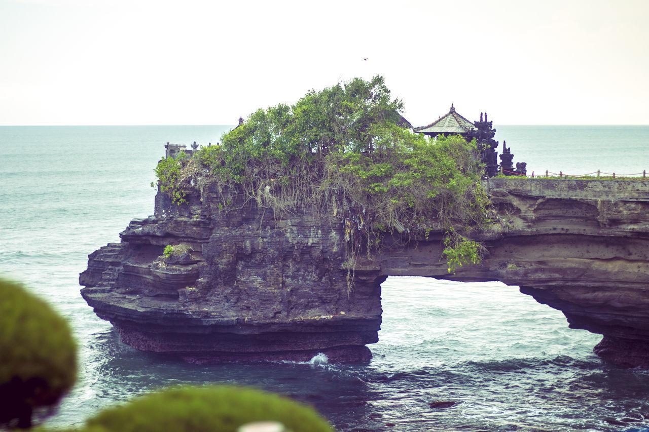 Tanah lot, bali, indonesia Bali Balinese Beach Cliff Culture Destination Exotic INDONESIA Island Island Of God, Bali Landmark Ocean Sea Shrine Tanah Lot Tanah Lot Temple Tourist Traditional Travel Traveling Variation