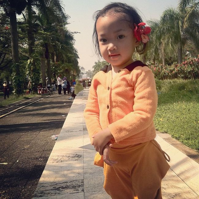 She's growing up so fast! My little girl :') Cute Babies