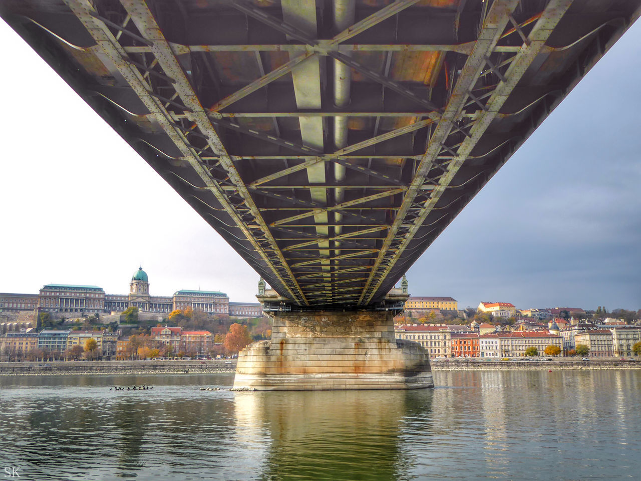 Beautiful stock photos of hungary, Architecture, Below, Bridge - Man Made Structure, Building Exterior