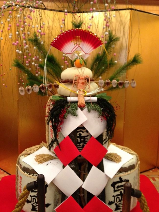The Decoration Of The New Year Of Japan