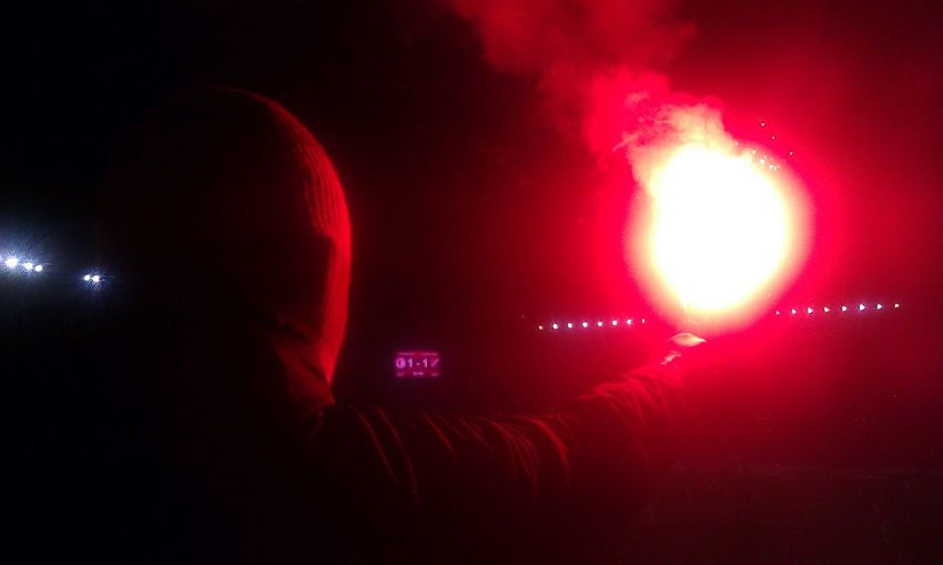 SK Slavia Praha supporters! Ultras Pyrotechnics Supporters Football