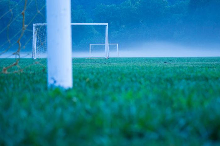 Depth Of Field Football Soccer Sports Moody Geometric Shapes