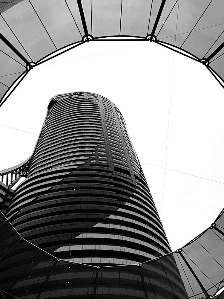 Skyscraper Supermassive Blackhole Blackandwhite Black & White Architecture Iphone6 Contrast Istanbul Followme Eyem Best Shots