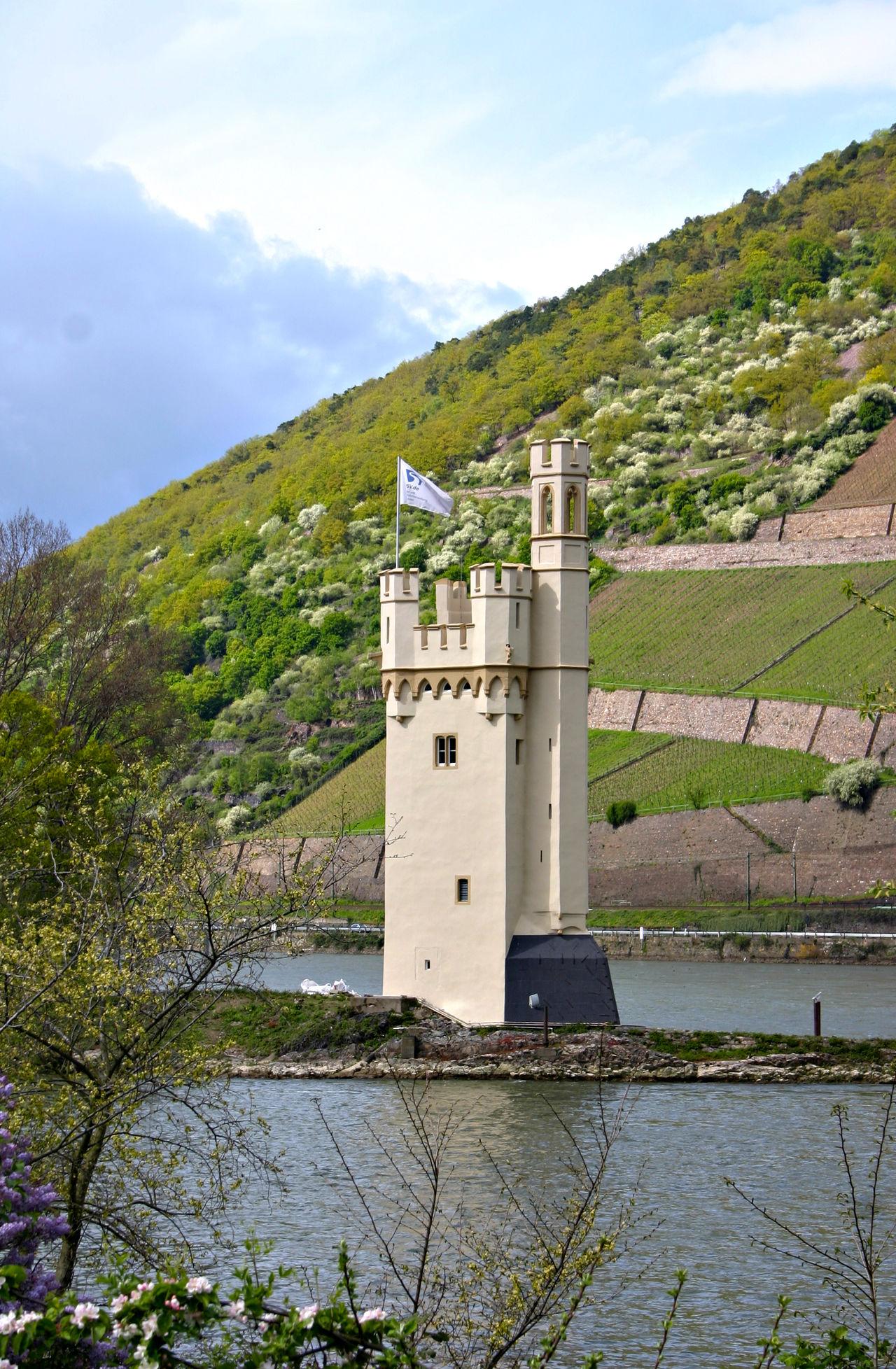 Binger Mäuseturm Rheintal