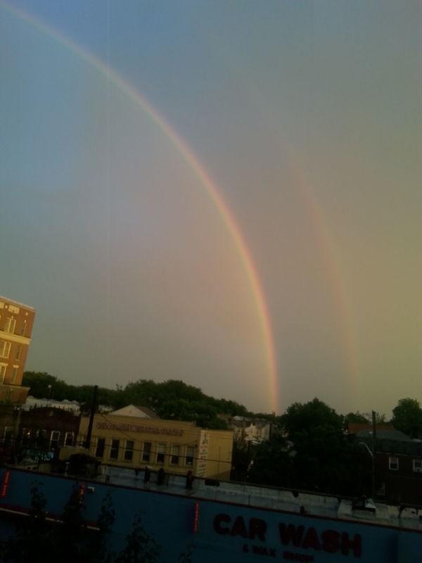 Rainbow over Sheepshead Bay Brooklyn Taking Photos Check This Out Brooklyn Nyc Rainbow Sheepshead Bay