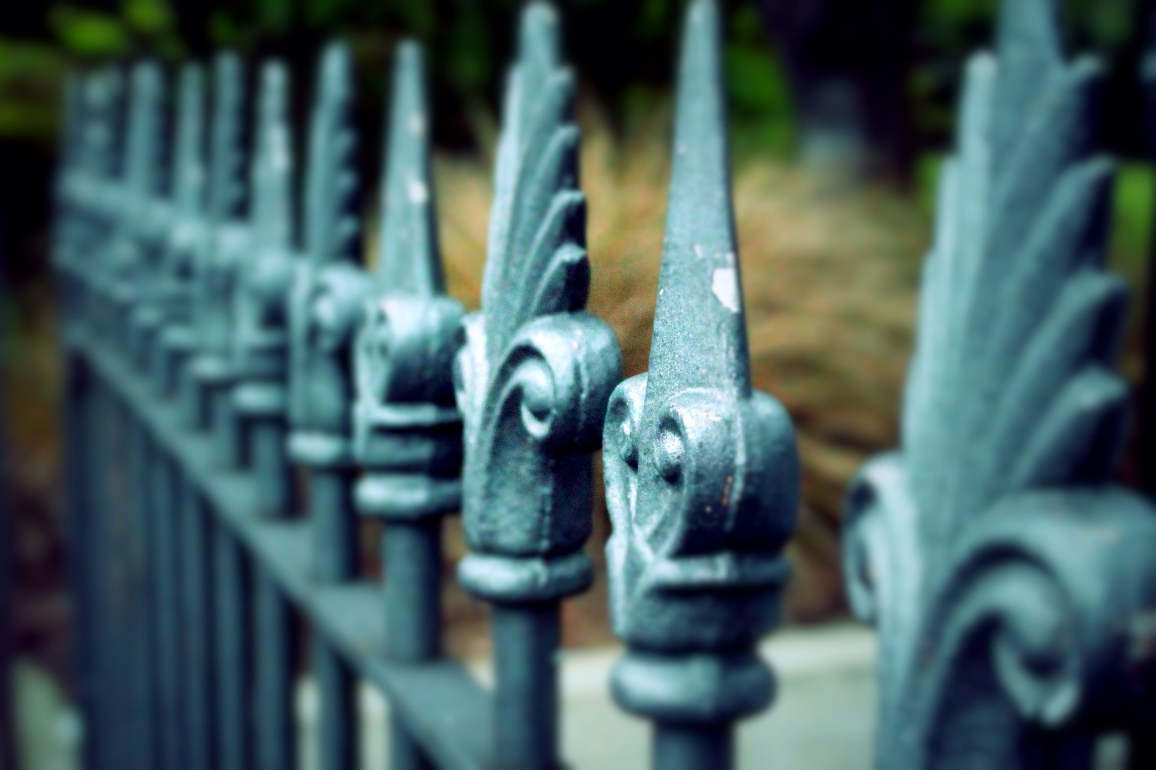 metal, focus on foreground, metallic, close-up, selective focus, padlock, security, rusty, protection, safety, lock, in a row, old, chain, fence, machine part, day, no people, outdoors, iron - metal