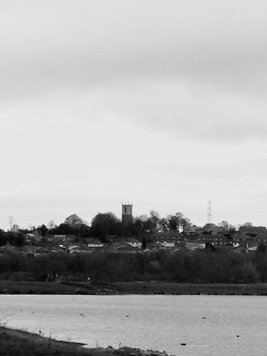 Black And White Photography Old Town Town Old Water At The Bottom Ducks Dyke  Lake My Town Home Town
