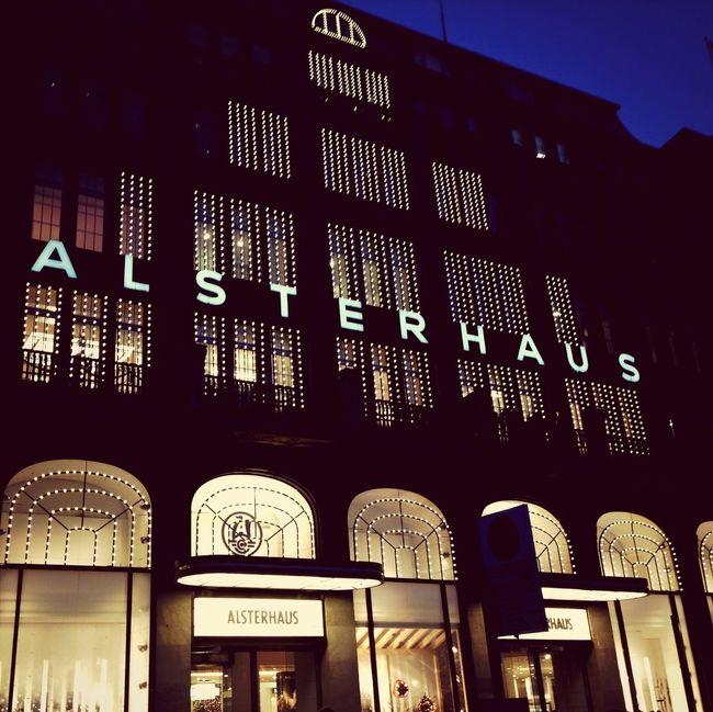 Visiting Hamburg Great Department Stores Shopping Hamburg City