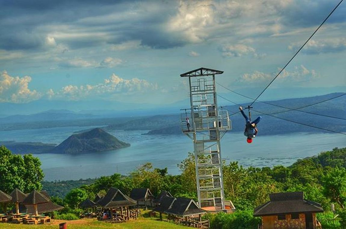 Extreme Zipline Nature Travel Travelphotography Discovermnl Picnic Grove Zipline at Tagaytay