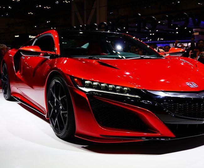 Tokyomotorshow2015 Honda Nsx Japan