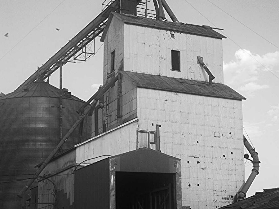 Once In A Lifetime Black And White Outdoors EyeEm Best Shots Photography Nebraska Grain Elevator