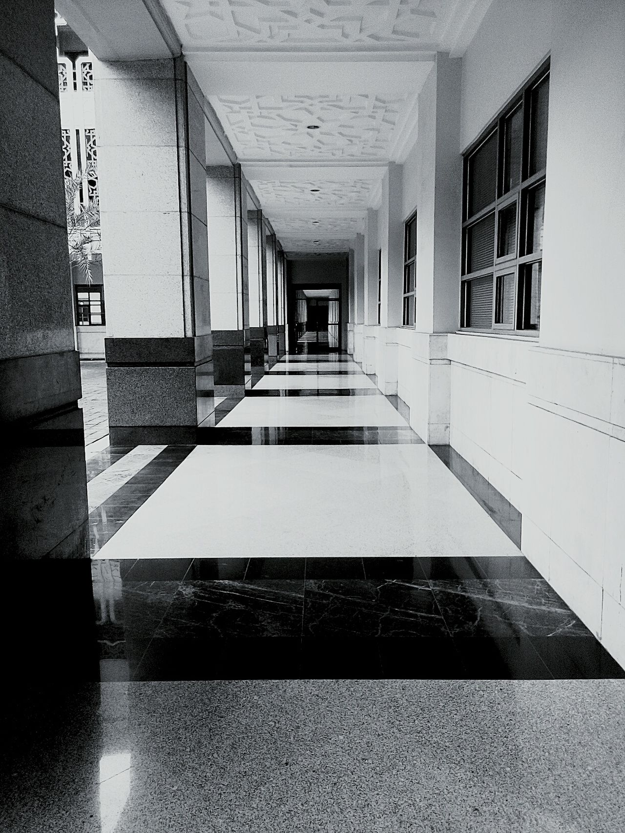 Architecture No People Built Structure Shadow Indoors  Transportation The Way Forward Exit Sign Day Coridor Road First Eyeem Photo Black & White Photography Black And White Collection  Blackwhite Blackandwhitephoto Blackandwhite Black & White Blackandwhite Photography Black And White Photography Blackandwhitephotography B&w B&W Portrait