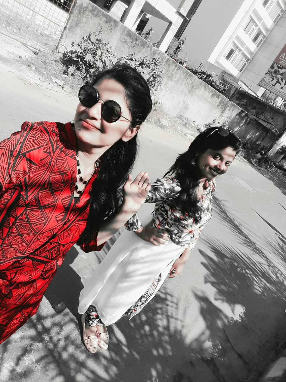 With my bestie.. 😍😍😍 Bestie <3 Masti Time Saturdayafternoon  Kolkatadiaries Friendship Friends ❤ Friendlikefamily Sweetheart♡♥ Loveyoutothemoonandback